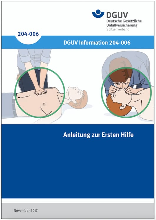 Erste Hilfe - Anleitung
