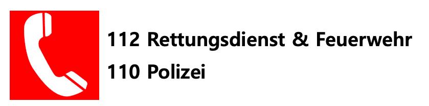 Notruf und Polizei