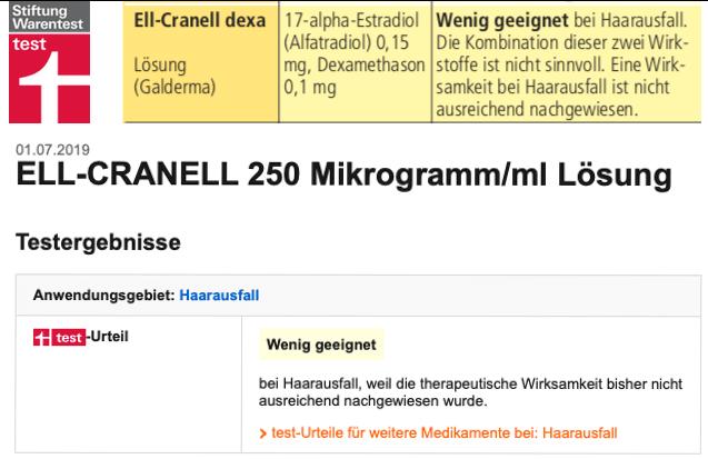 Ell Cranell Stiftung Warentest Bewertung Erfahrung Test 2019 Ell Cranell