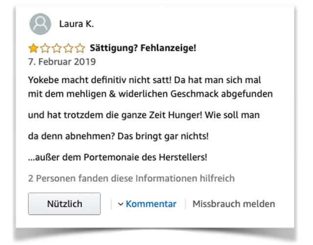 Yokebe Kritik negative Kundenerfahrungen auf Amazon 2019 Yokebe-2
