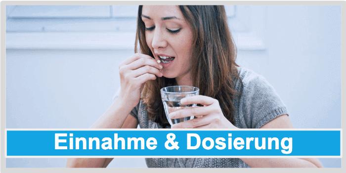 Fettverbrenner Einnahme und Dosierung