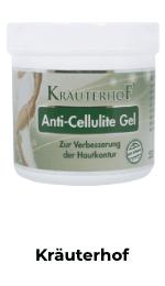 Kräuterhof Anti Cellulite Gel Tabelle