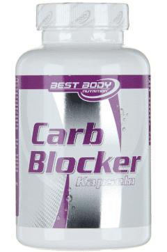 Best Body Nutrition Kohlenhydratblocker Tabelle
