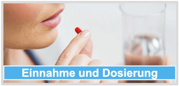 Sättigungskapseln Einnahme Dosierung Anwendung