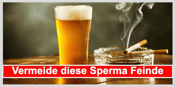 Sperma Feinde vermeiden