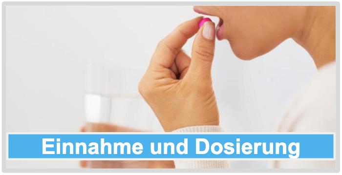 Stoffwechsel Tabletten Einnahme Dosierung Anwendung
