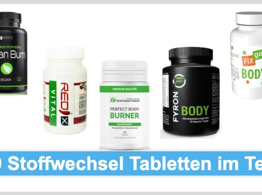 Stoffwechsel Tabletten Test Beitragsbild