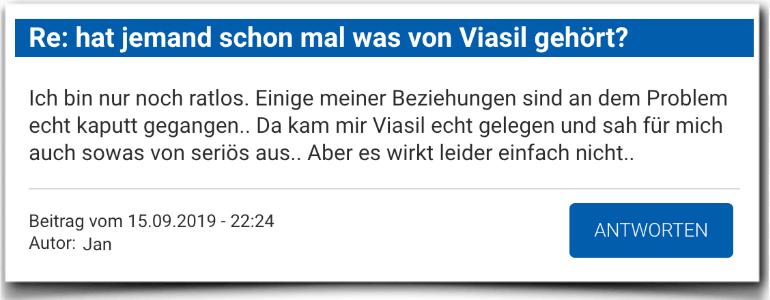 Offizielle Warnung ▷ Viasil im Selbsttest + Erfahrungen 2019