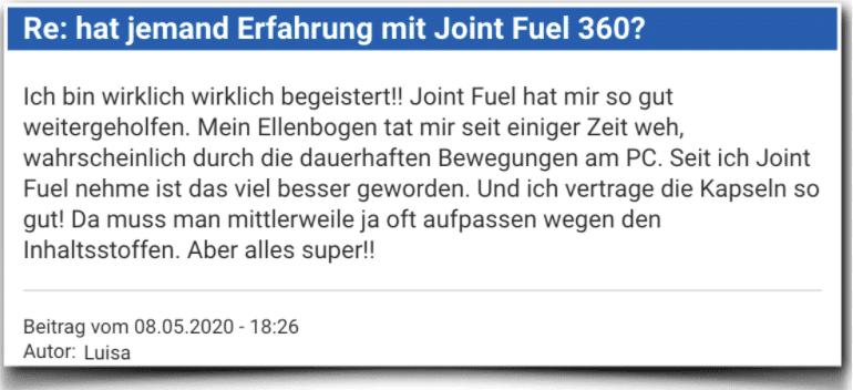 Joint Fuel 360 Erfahrungsbericht Kritik Bewertung Joint Fuel 360